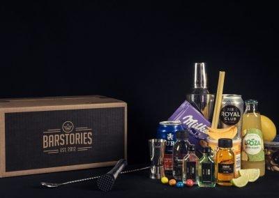 Voorbeeld cocktailpakket met snacks online cocktail workshop
